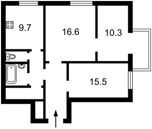 Квартира Жилянская, 83/53, Киев, Z-806802 - Фото2