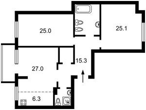 Квартира Z-807489, Гарматная, 20, Киев - Фото 6