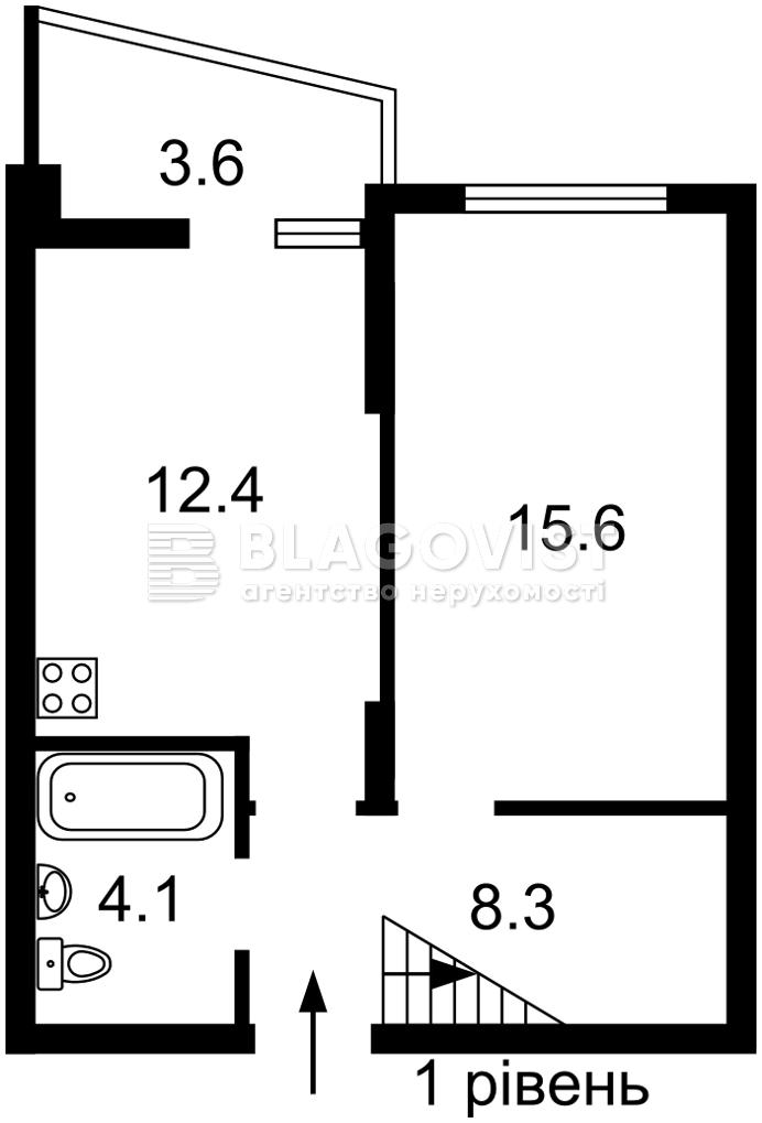 Квартира R-40522, Радченко Петра, 27-29 корпус 2, Киев - Фото 5