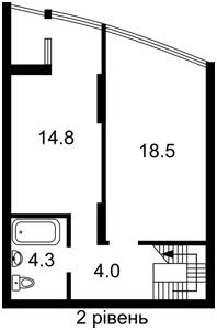 Квартира R-40522, Радченко Петра, 27-29 корпус 2, Киев - Фото 6