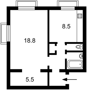 Квартира Лысогорская, 3, Киев, P-30079 - Фото2