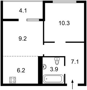 Квартира Тираспольская, 43 корпус 9-10, Киев, R-40620 - Фото2
