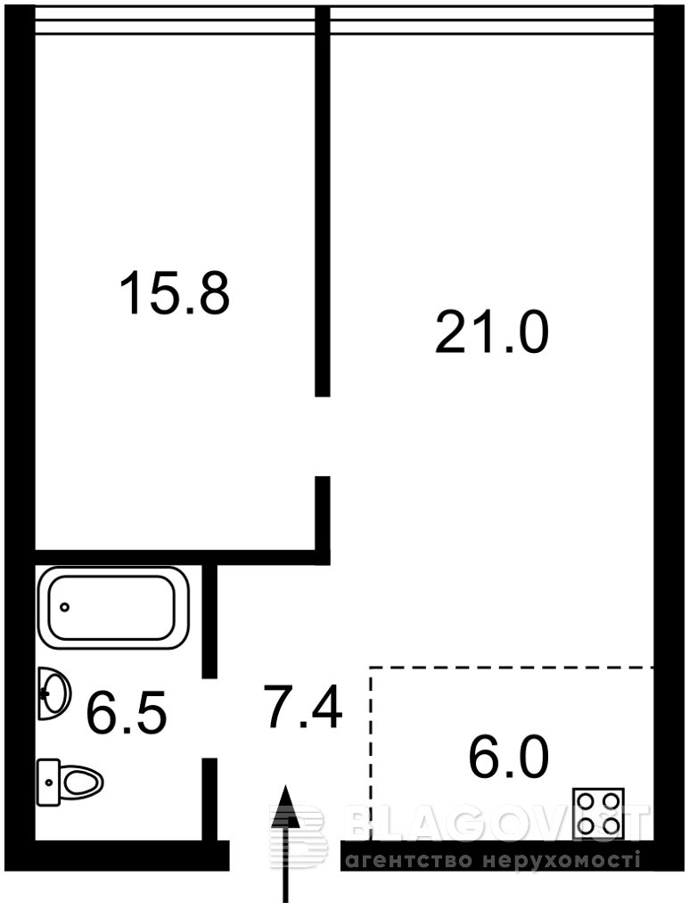 Квартира C-109734, Зверинецкая, 72 корпус 1, Киев - Фото 7