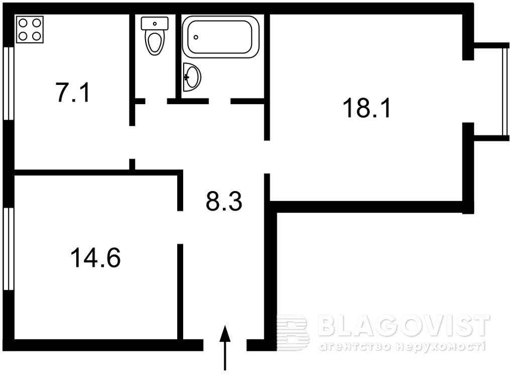 Квартира Z-791283, Кловский спуск, 4а, Киев - Фото 3