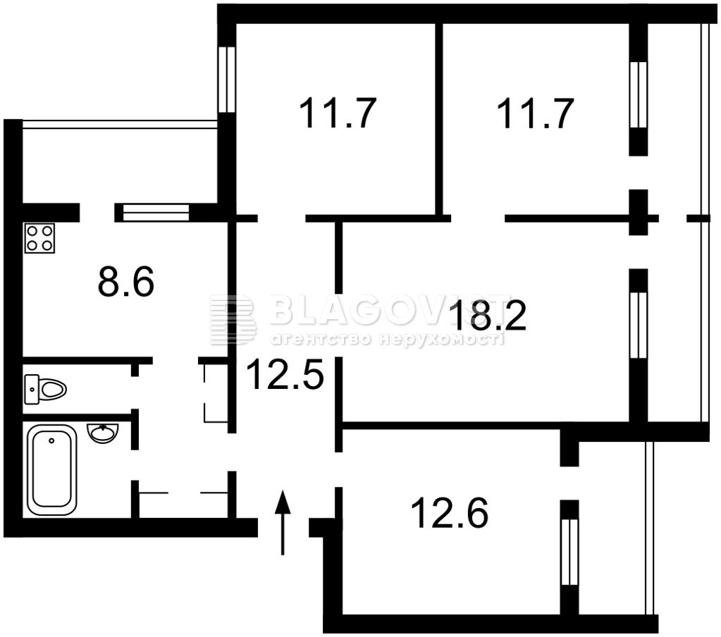 Квартира Z-804994, Довженко, 16б, Киев - Фото 3
