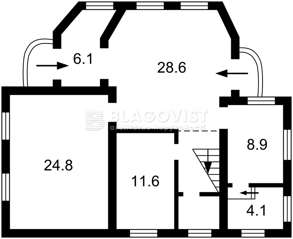 Будинок R-40598, Хотянівка - Фото 1