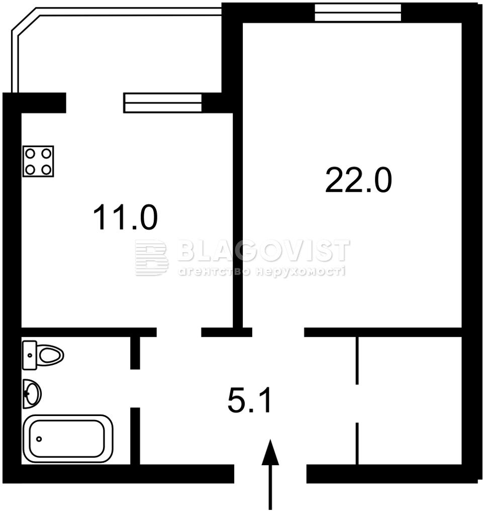 Квартира F-45358, Ревуцкого, 40в, Киев - Фото 6