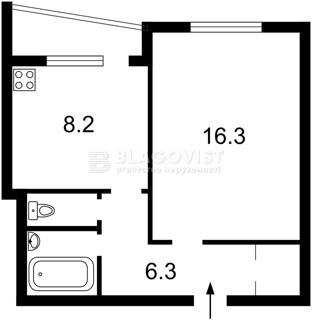 Квартира Z-804629, Киото, 11, Киев - Фото 2