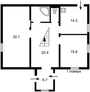 Будинок Ватутіна, Київ, H-50688 - Фото 2