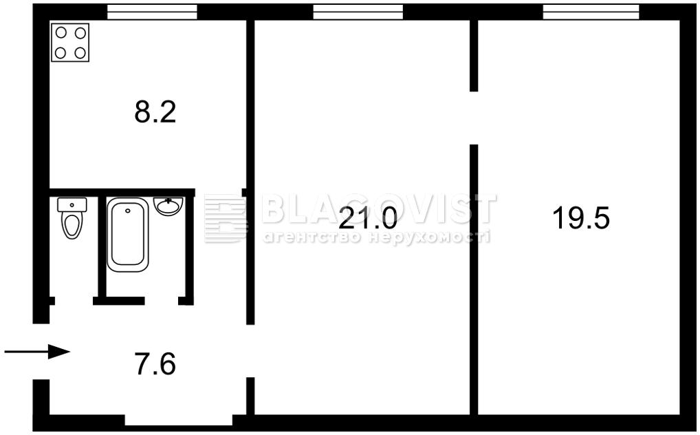 Нежитлове приміщення, M-39360, Болбочана Петра (Каменєва Командарма), Київ - Фото 6