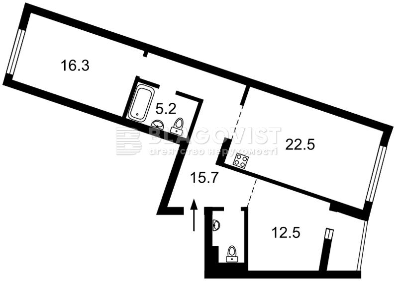 Квартира Z-807140, Героев Сталинграда просп., 2д, Киев - Фото 5