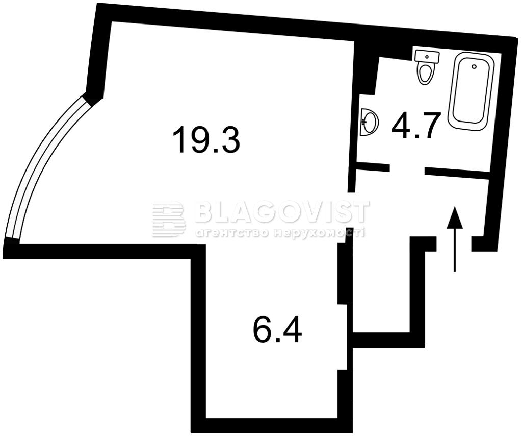 Квартира E-41464, Днепровская наб., 23, Киев - Фото 6