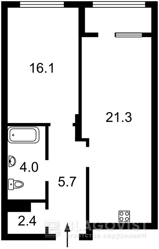 Квартира Z-808501, Жмаченко Генерала, 26 корпус 2, Киев - Фото 3
