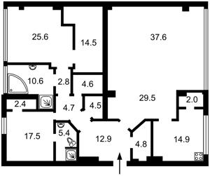 Квартира Владимирская, 49а, Киев, Z-802852 - Фото2