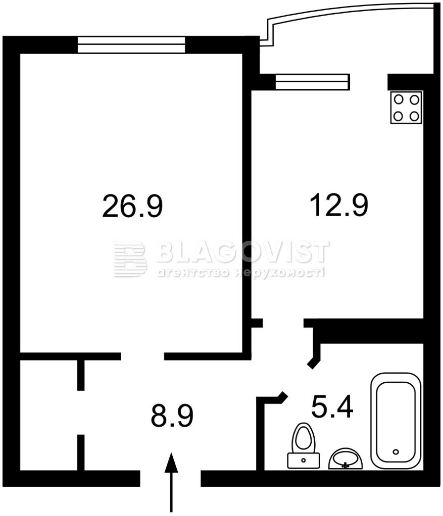 Квартира C-109924, Княжий Затон, 21, Киев - Фото 6