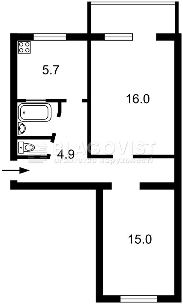 Квартира F-45386, Подвысоцкого Профессора, 8, Киев - Фото 3