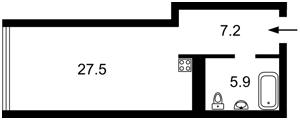 Квартира Тимошенка Маршала, 21/19, Київ, Z-758793 - Фото 2
