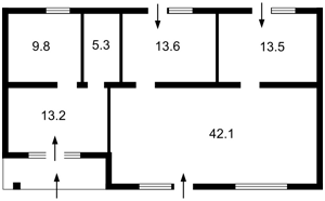 Будинок Франка Івана, Клавдієво-Тарасове, R-29815 - Фото 2
