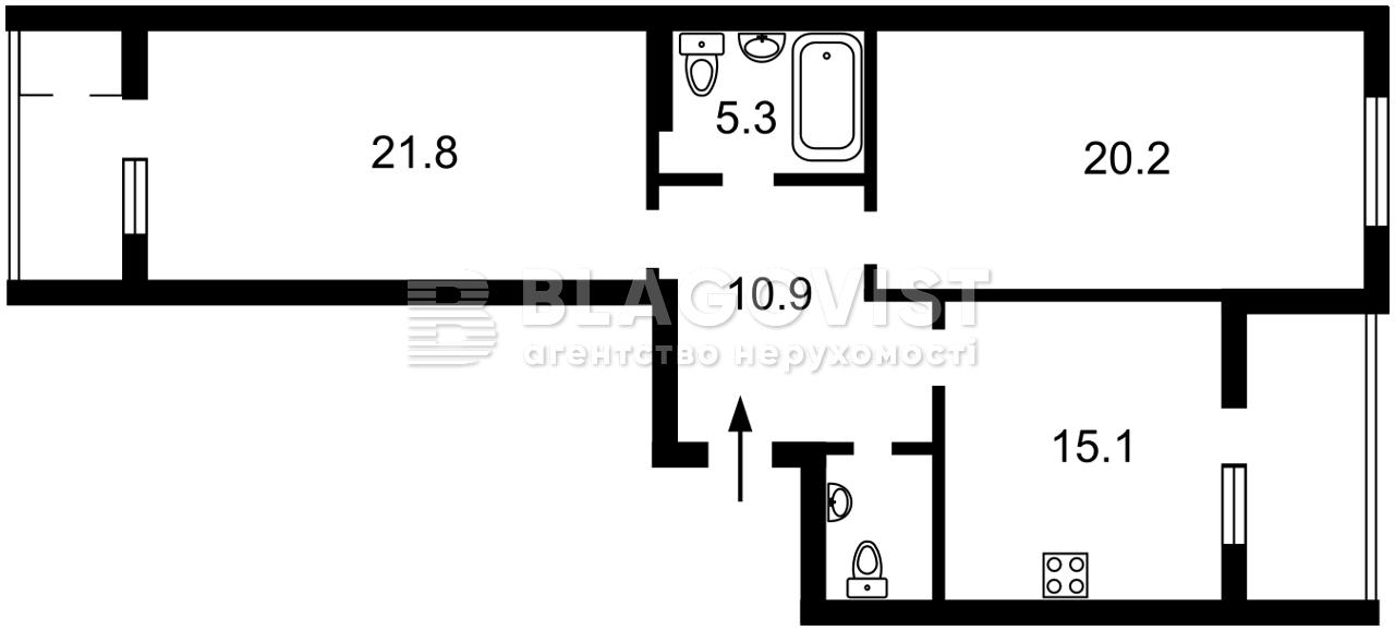 Квартира M-39552, Багговутовская, 25, Киев - Фото 6