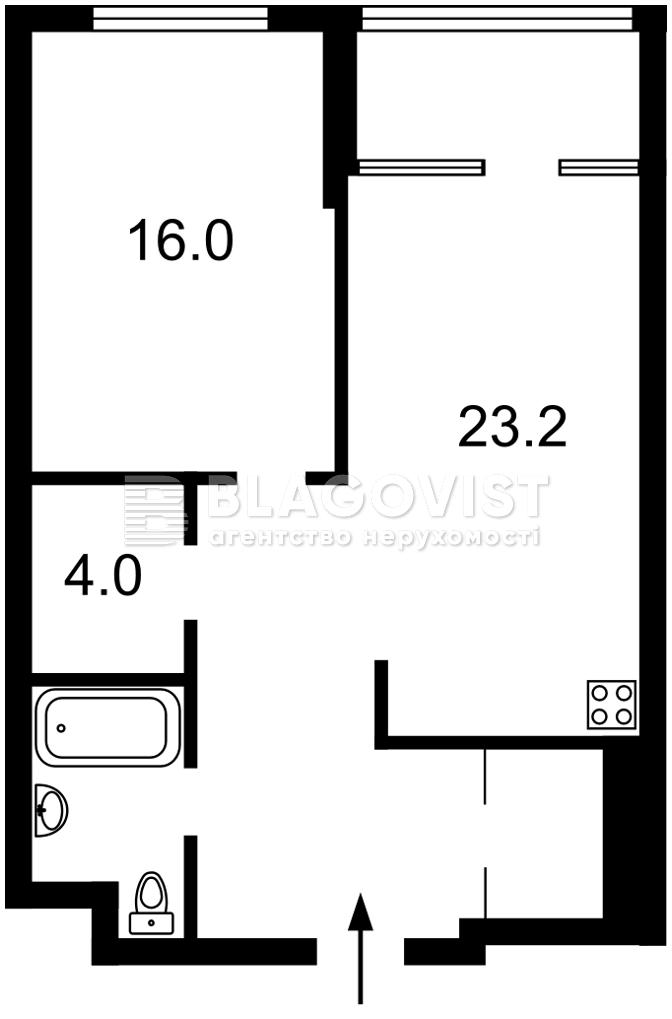 Квартира F-45387, Бойчука Михаила (Киквидзе), 41-43, Киев - Фото 8