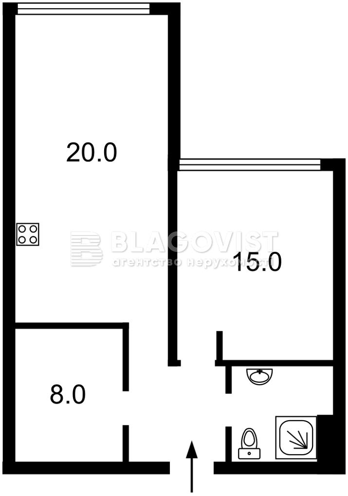 Квартира A-112622, Бойчука Михаила (Киквидзе), 41-43, Киев - Фото 8