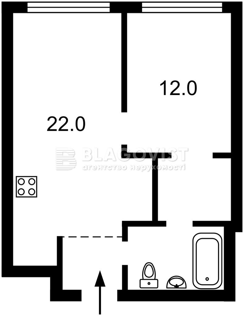 Квартира M-39570, Васильковская, 1/1, Киев - Фото 3