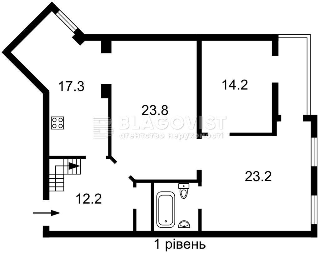 Квартира M-39598, Героев Сталинграда просп., 14, Киев - Фото 2