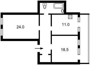 Квартира E-40792, Нижний Вал, 33, Киев - Фото 4
