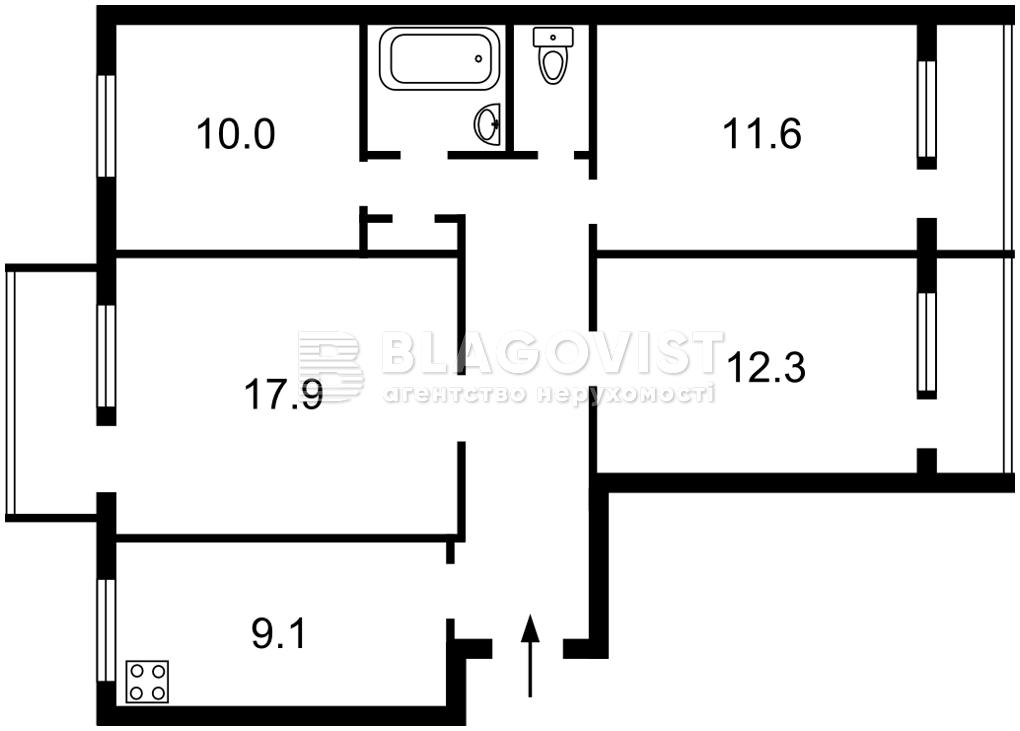Квартира Z-809148, Копыловская, 31, Киев - Фото 3