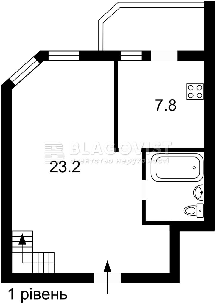 Квартира Z-811455, Мира пер. , 30, Киев - Фото 2