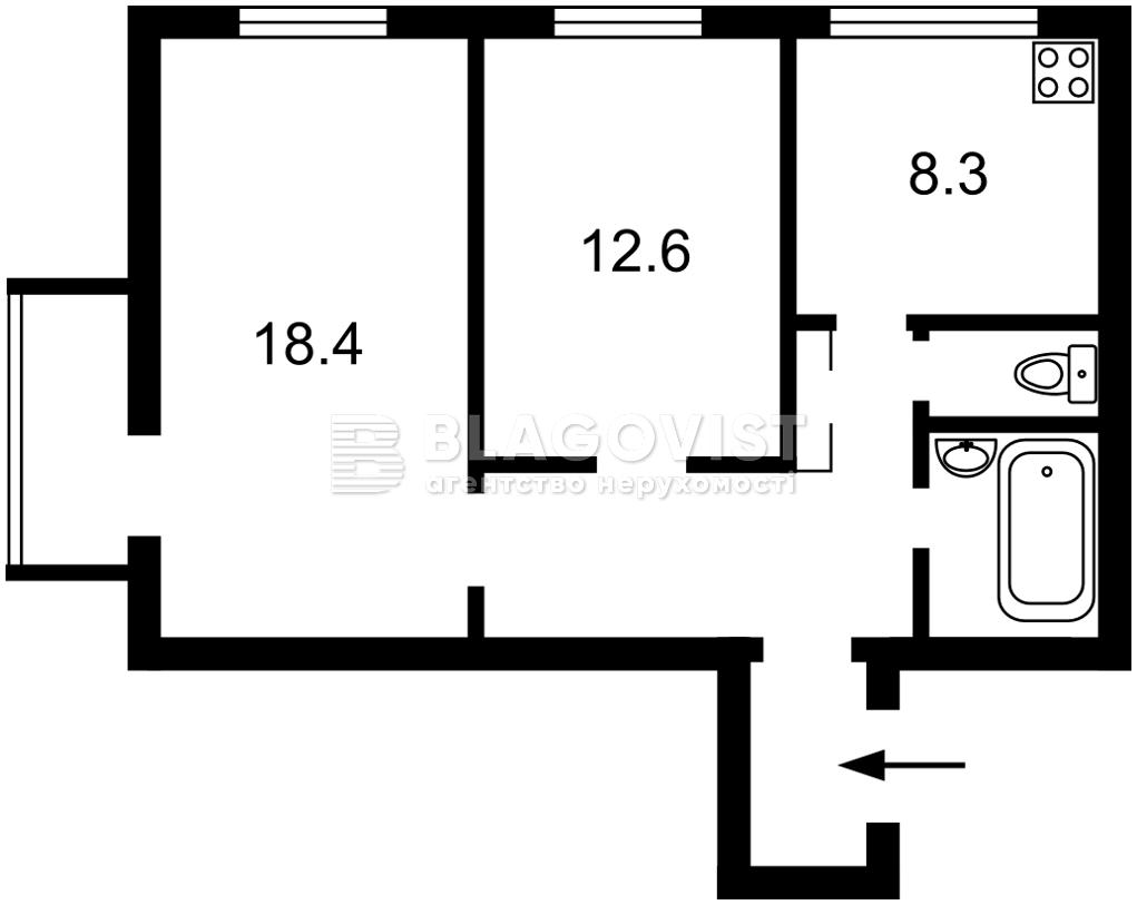 Квартира M-28924, Леси Украинки бульв., 4, Киев - Фото 4