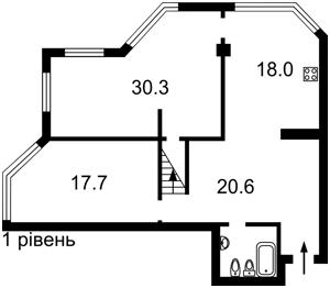Квартира Гетьмана Вадима (Индустриальная), 1б, Киев, A-112618 - Фото 2