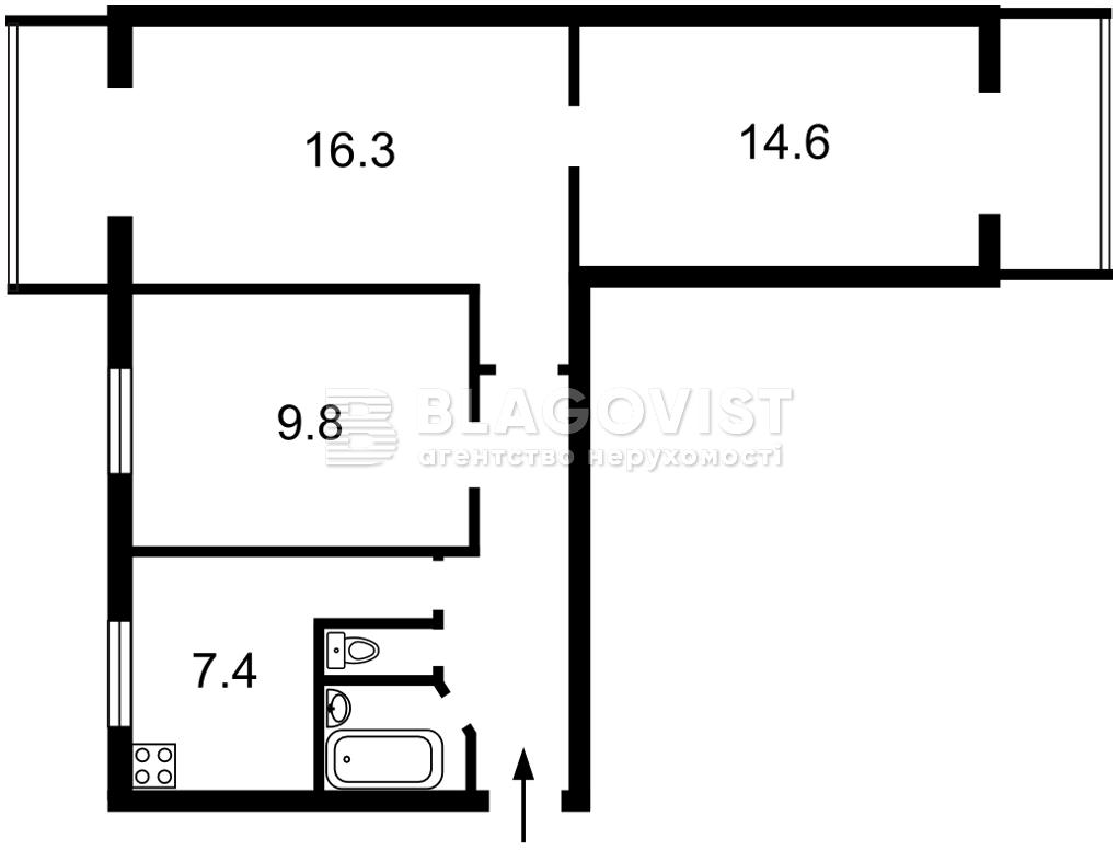 Квартира Z-804865, Тычины Павла просп., 21, Киев - Фото 3