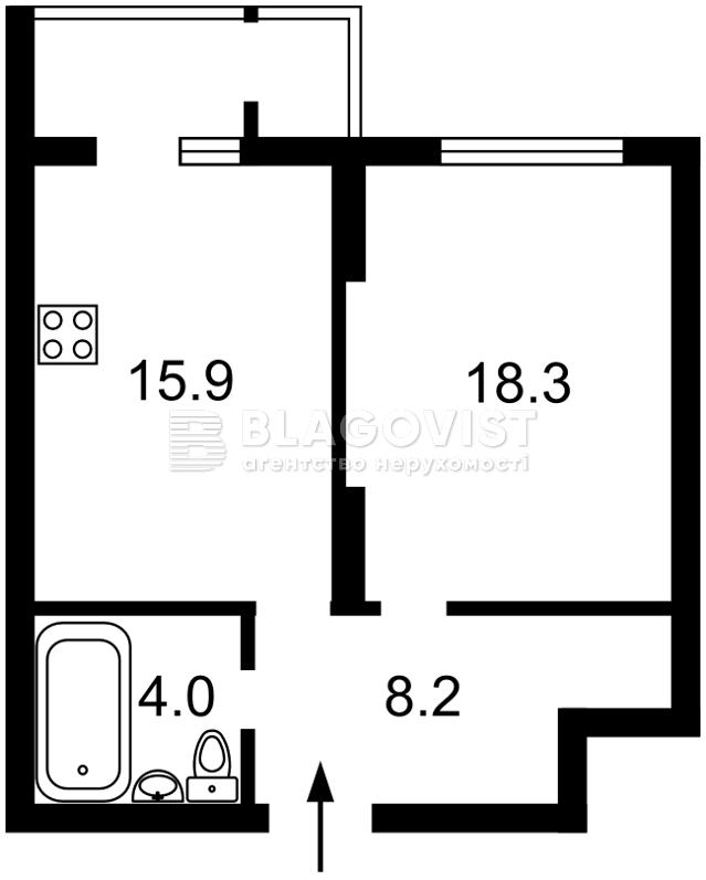 Квартира R-39970, Соломенская, 20в, Киев - Фото 4