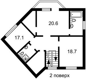 Дом Любимовская, Киев, F-45453 - Фото 5