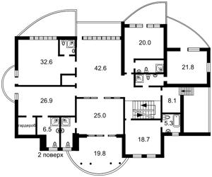 Будинок Нова, Козин (Конча-Заспа), E-41532 - Фото 3