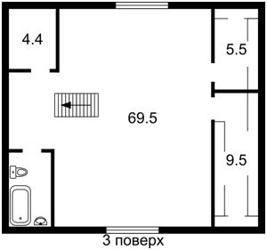 Будинок Туполєва Академіка, Київ, E-41553 - Фото 4