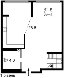 Квартира Львовская, 15, Киев, Z-810490 - Фото2