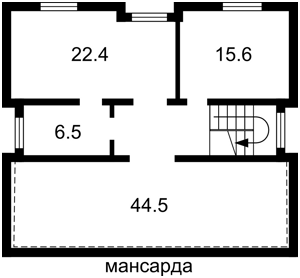 Будинок Київська, Українка, M-39404 - Фото 4