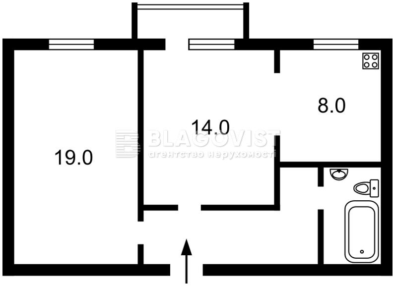 Квартира A-107192, Круглоуниверситетская, 11/19, Киев - Фото 4