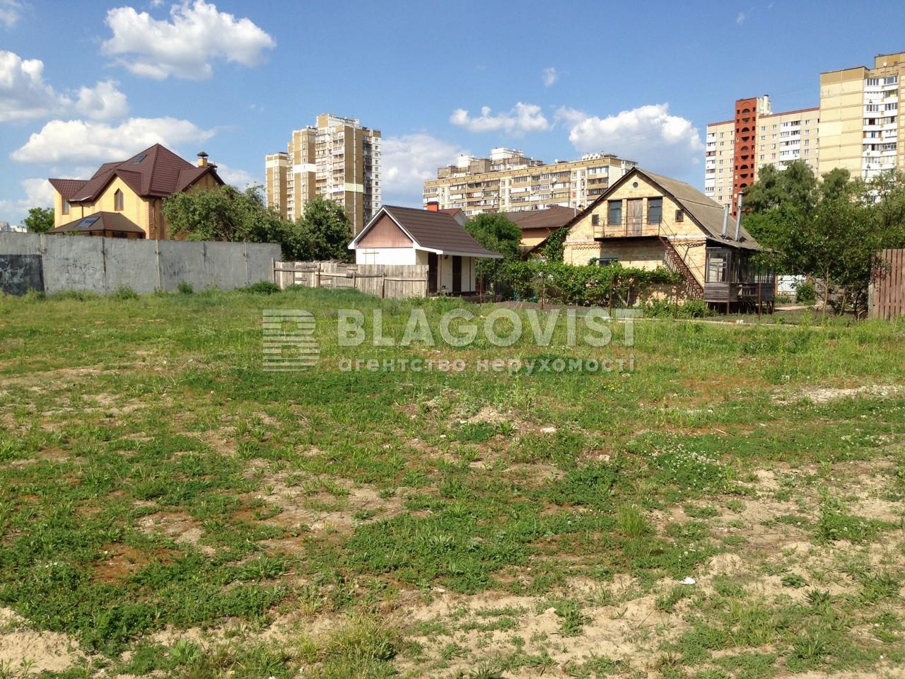 Земельный участок R-4990, Яворницкого Дмитрия (Коллонтай), Киев - Фото 1