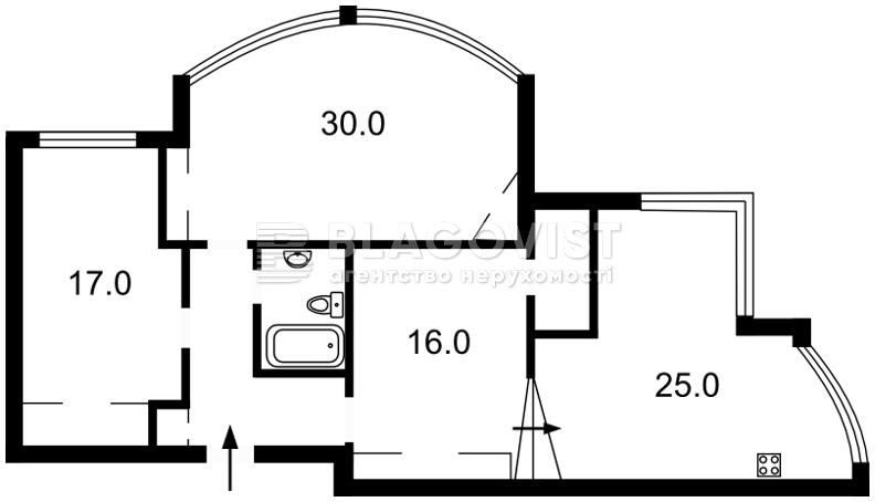 Квартира M-32285, Науки просп., 69, Киев - Фото 6