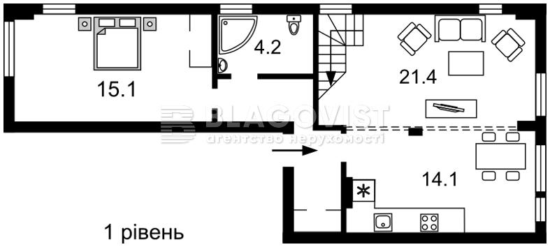 Квартира Z-323858, Регенераторная, 4 корпус 14, Киев - Фото 3