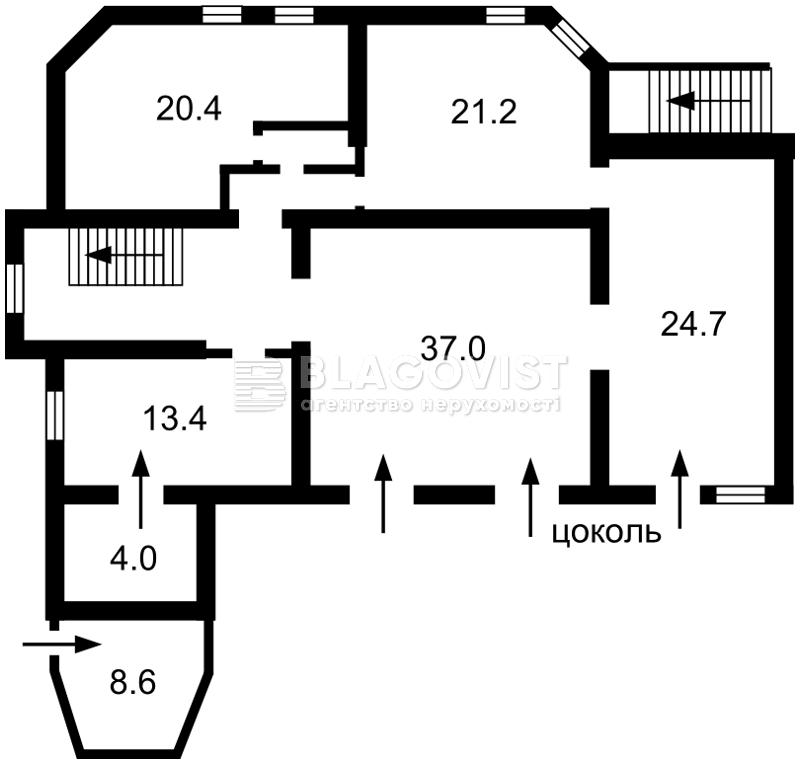 Будинок, A-109045, Краснодонська, Київ - Фото 3