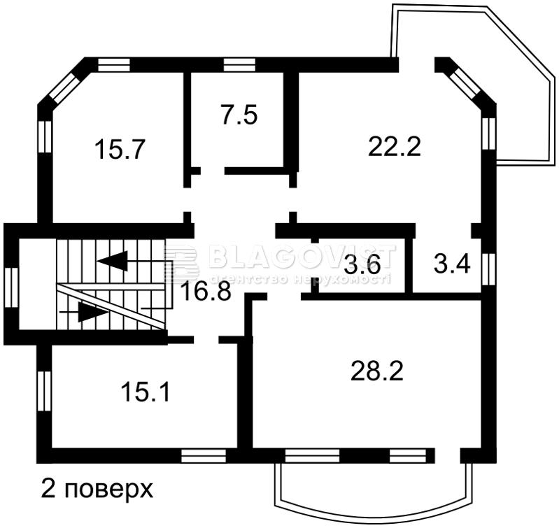 Будинок, A-109045, Краснодонська, Київ - Фото 5