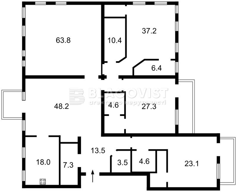 Квартира Z-341877, Владимирская, 22, Киев - Фото 2