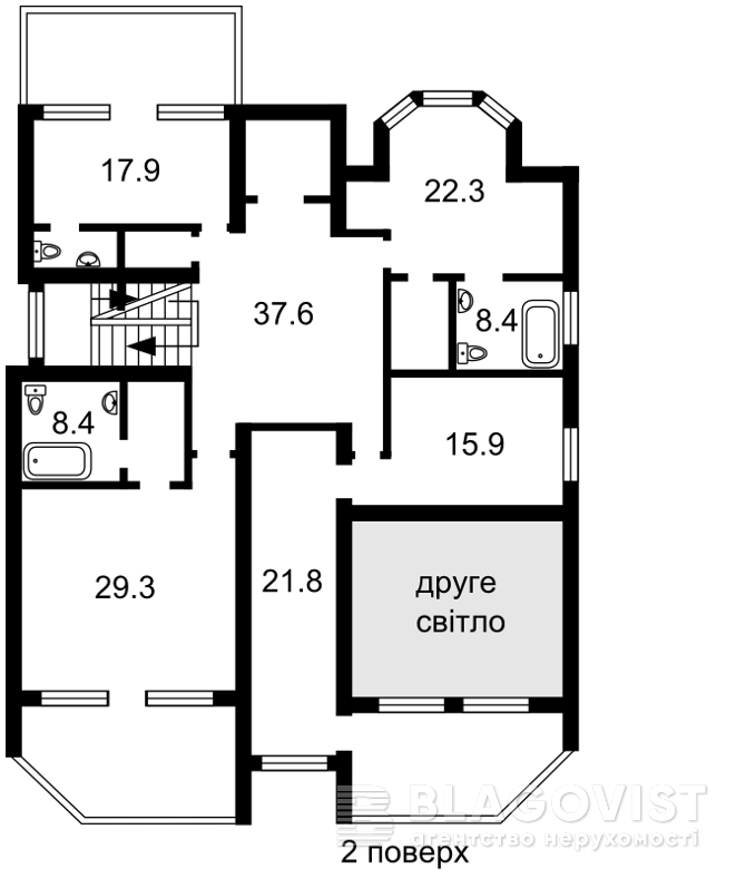 Дом F-40687, 14-й переулок, Гостомель - Фото 7
