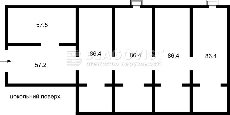 Офисно-складское помещение, Пономарева, Коцюбинское, R-22217 - Фото 7