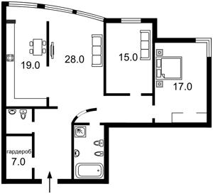 Квартира Панаса Мирного, 28а, Киев, H-43604 - Фото2