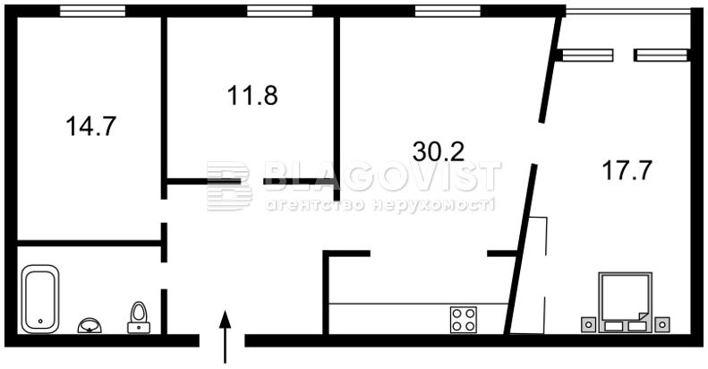 Квартира R-25898, Владимирская, 40/2, Киев - Фото 6